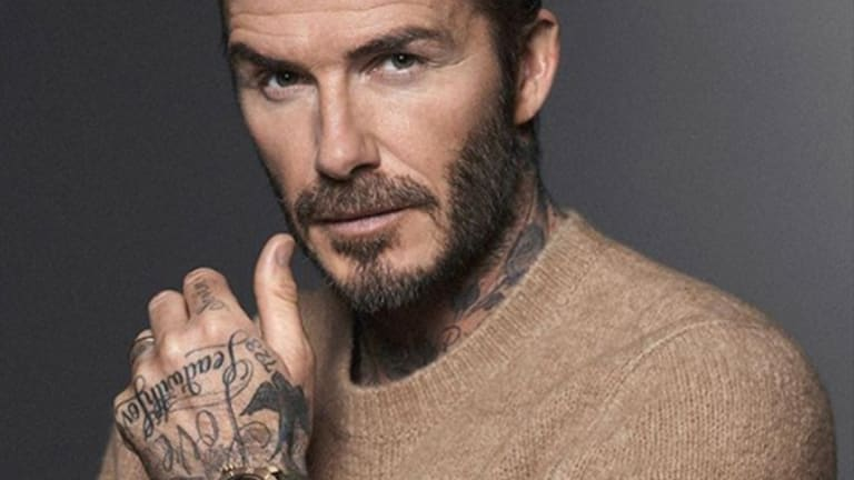 Did David Beckham Get an Ear Tattoo?