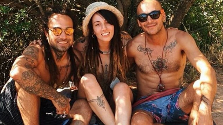Meet the Tattoo Artist with Two Hot Boyfriends