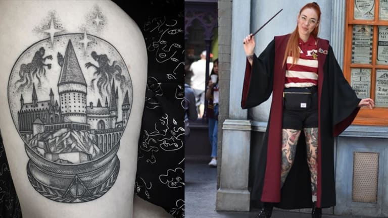 This Artist Specializes in Magical Harry Potter Tattoos
