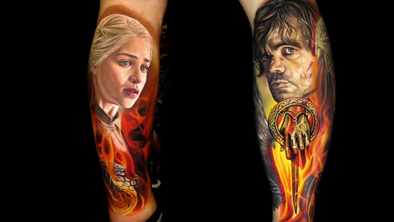 12 Legendary Game of Thrones Tattoos