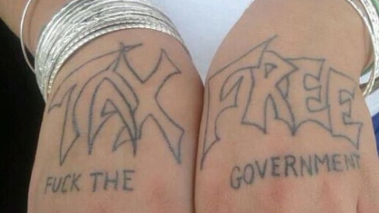 Would You Get a Tattoo for No Taxes?