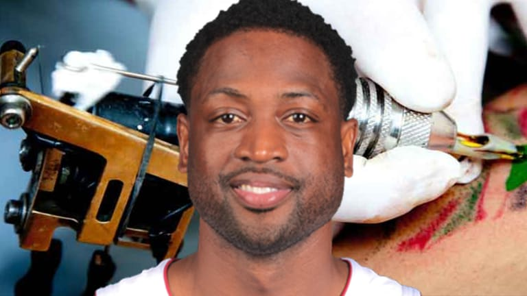 Dwyane Wade Gets His Own Quote Tattooed on His Thigh
