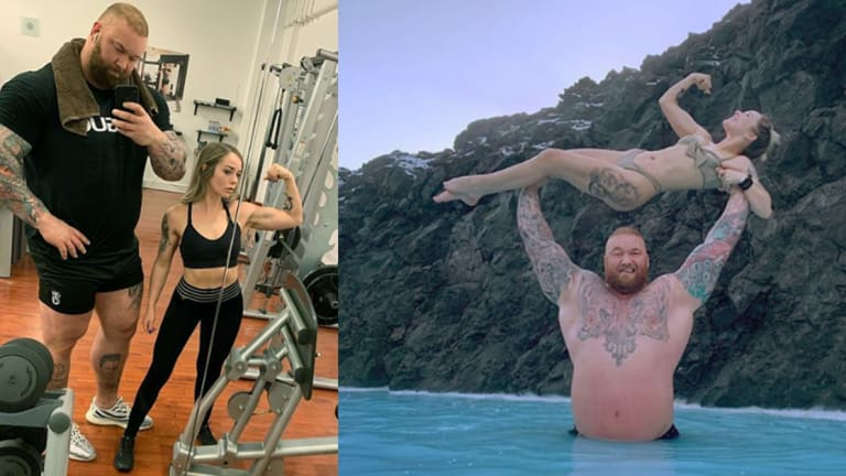 You Won't Believe the Height Difference Between GOT's The Mountain and His Wife