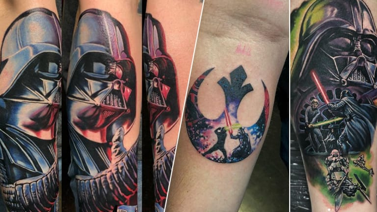 "An Exclusive with the ""Star Wars Tattoo Artist,"" Josh Bodwell"