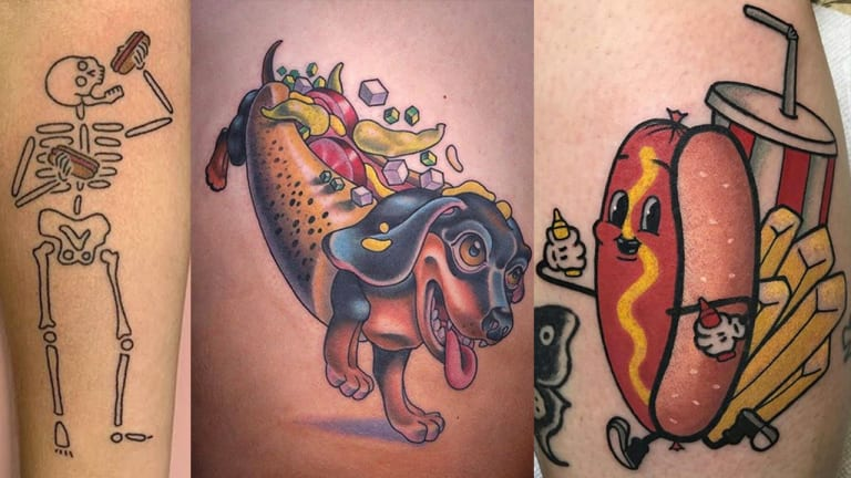 To Be Frank, These Hot Dog Tattoos Rock