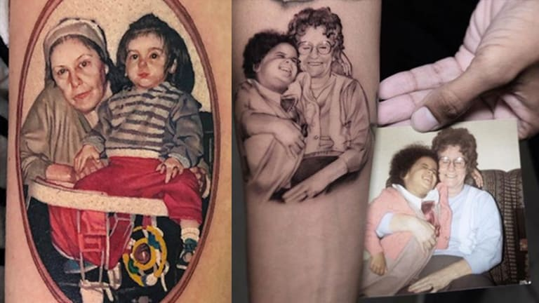 Tell Your Grandma You Love Her with a Tattoo