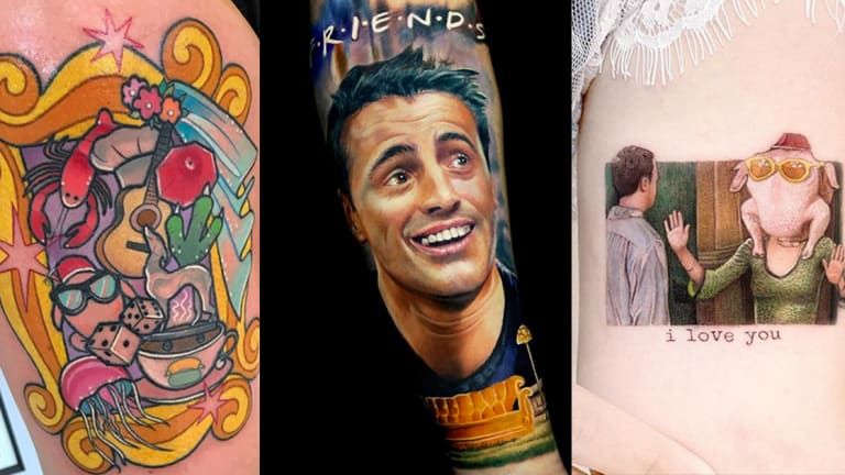 16 Years Later, 'Friends' Lives on Through Tattoos