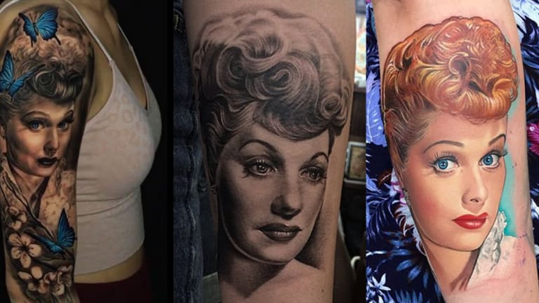 Celebrate Lucille Ball's Legacy with 20 Lovely Tattoos