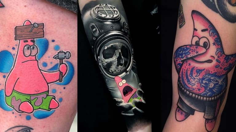 Celebrate Patrick Star's New Spin-off Show with Iconic Ink