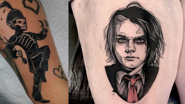 Teenagers, Black Parades and Danger Days: 40 Legendary My Chemical Romance Tattoos