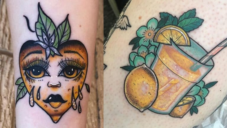 When Life Gives You Lemon Tattoos, Make Lemonade