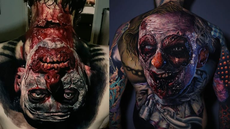 Are You Afraid of Scary Clown Tattoos?