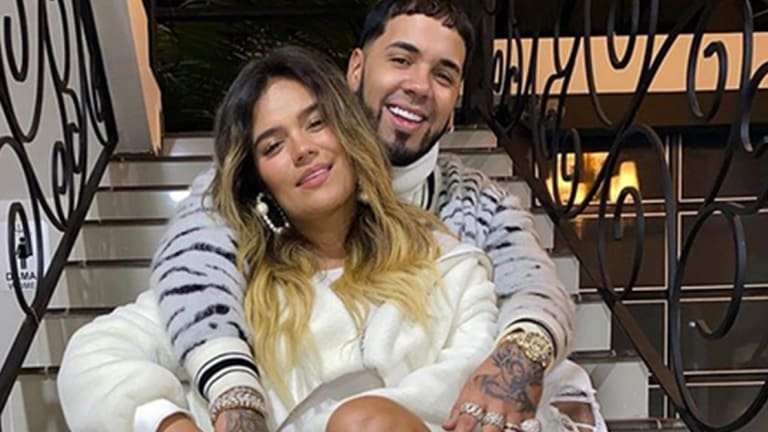 Anuel AA and Karol G Got New Tattoos by Tatu Baby
