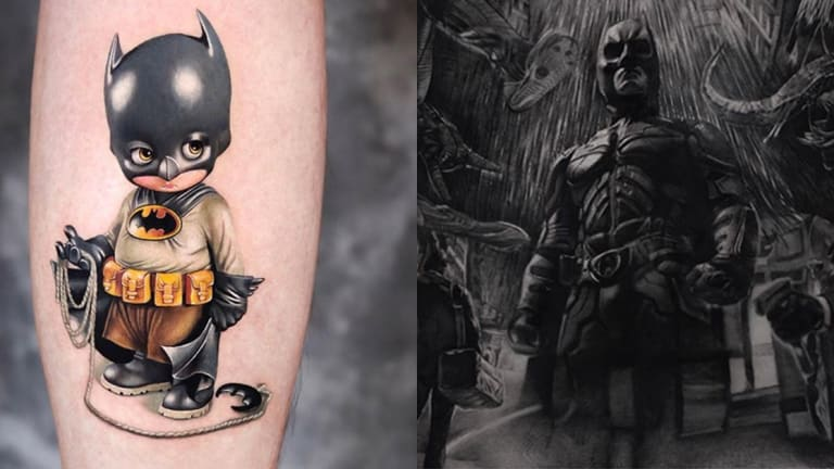 Get Ready for 'The Batman' with Heroic Ink