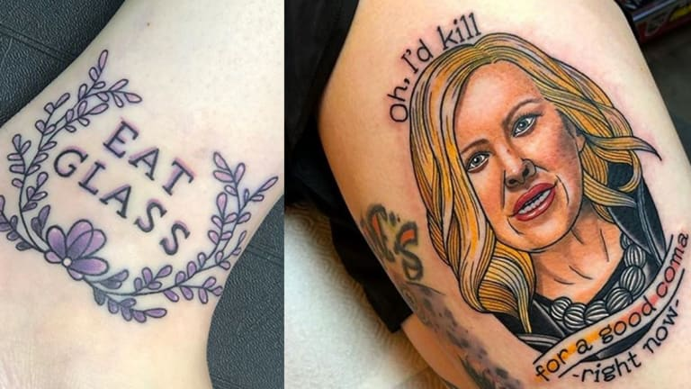 Celebrate Emmy History with Schitt's Creek Tattoos