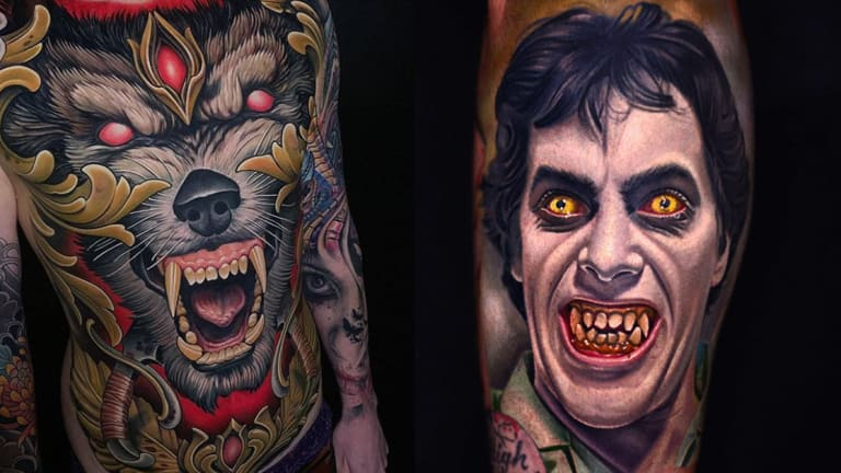 These Werewolf Tattoos Will Make You Howl at the Moon