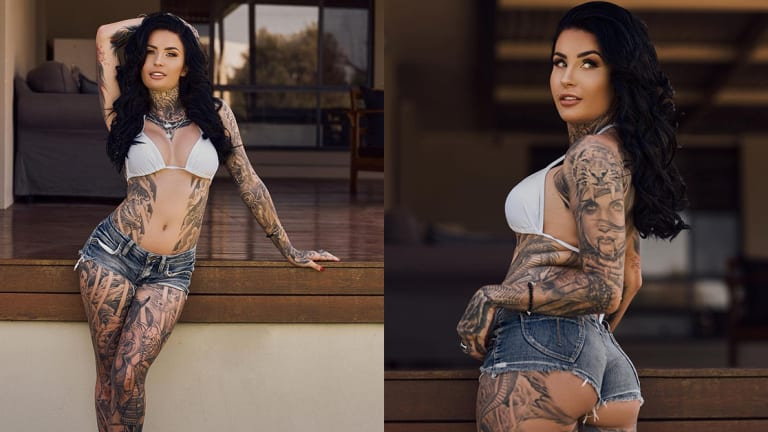 Inked Girl of the Week: Tattooed Katia