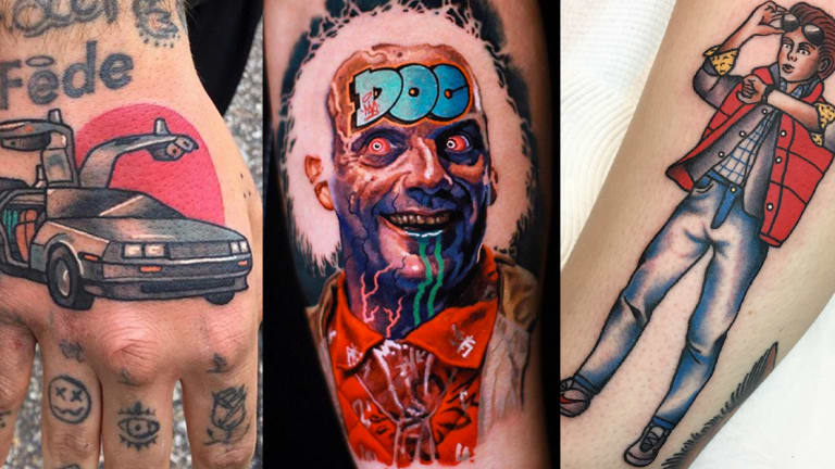 Great Scott! Check Out These Back to the Future Tattoos
