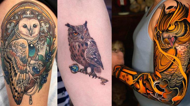 45 Outstanding Owl Tattoos