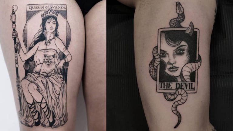 Discover Your Destiny with Tarot Card Tattoos