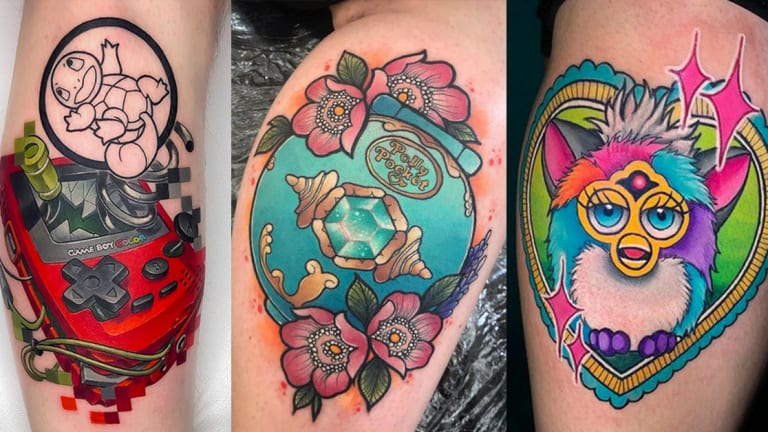 50+ Tattoos Based on '90s Toys Every Kid Wanted