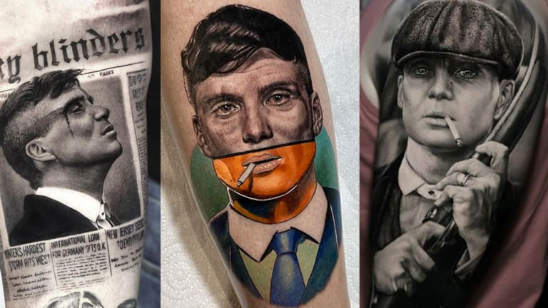 25 Badass 'Peaky Blinders' Tattoos