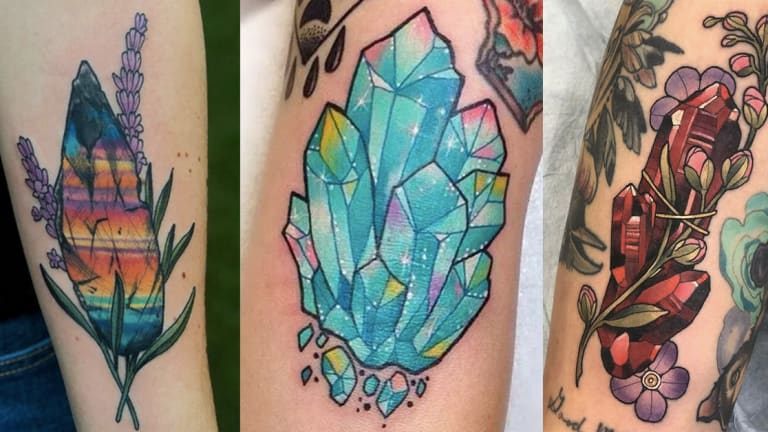 25 Healing Crystal Tattoos