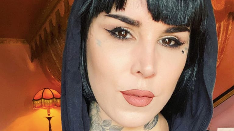 Kat Von D Blacks Out Her Tattoos