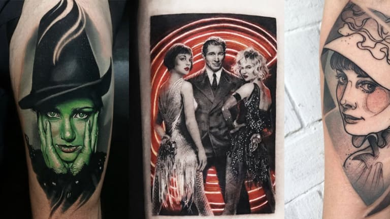 Theatrical Tattoos for 15 Famous Broadway Musicals