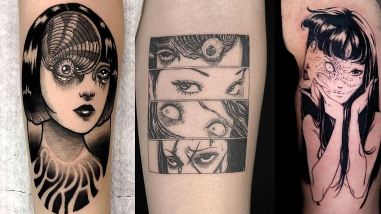 Get Your Horror On With Junji Ito Tattoos