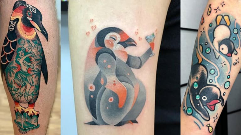 50 Perfect Penguin Tattoos