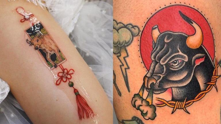 Celebrate Chinese New Year with 25 Year of the Ox Tattoos