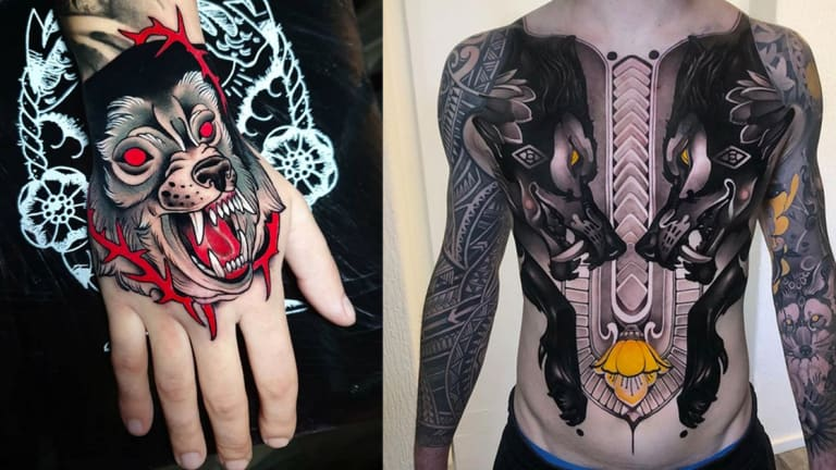 Howl for These Wild Wolf Tattoos