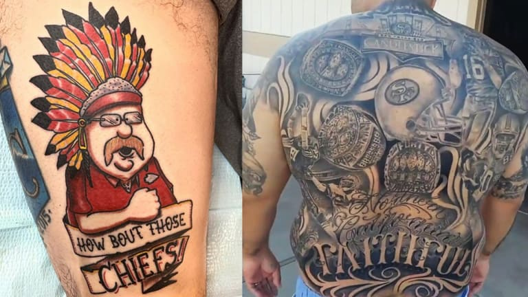 49ers vs. Chiefs: Which Team Has Better Ink?