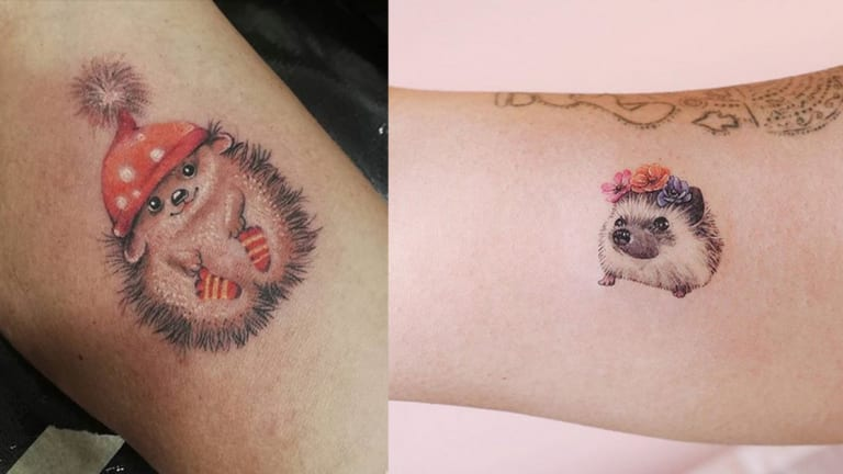 15 Prickly and Perfect Hedgehog Tattoos