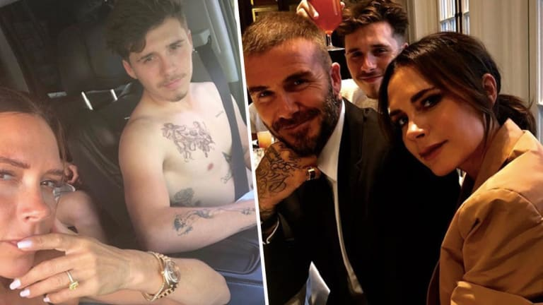 Brooklyn Beckham Wins Major Big Brother Points With Latest Tattoo
