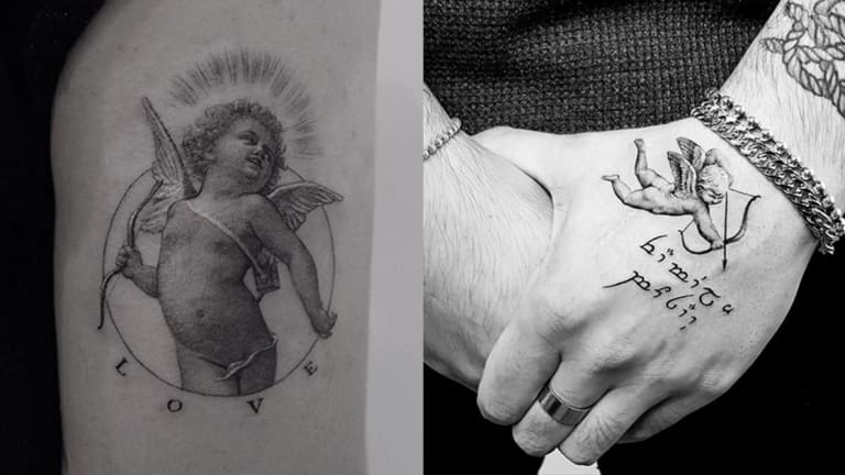 Celebrate Valentine's Day with 15 Cupid Tattoos