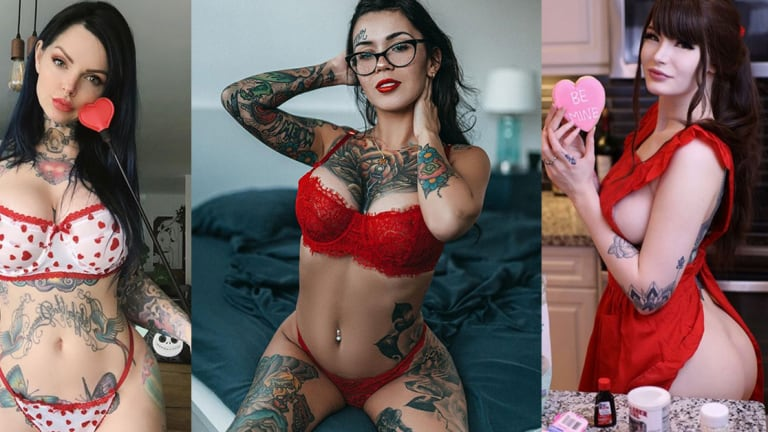 50 Tattooed Beauties Who are Ready for Valentine's Day