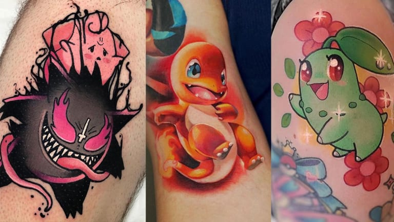Celebrate National Pokémon Day with 20 Colorful and Cute Tattoos