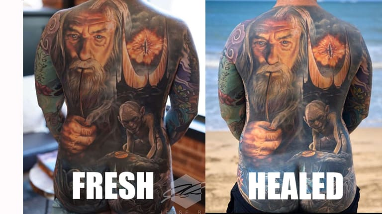 Want to Know How Your Favorite Artist's Tattoos Will Heal?