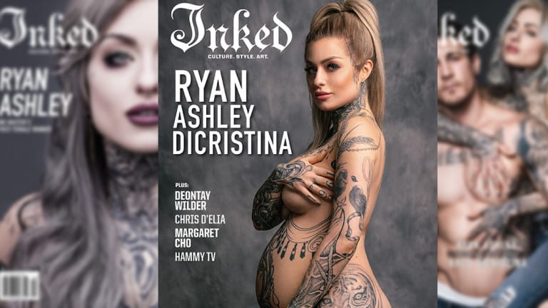 Ryan Ashley Debuts Baby Bump on the Cover of Inked
