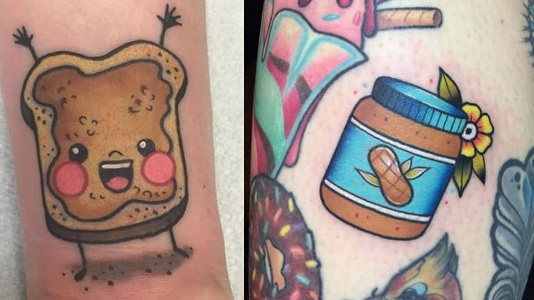 Share Your Love for Peanut Butter with a Tattoo!