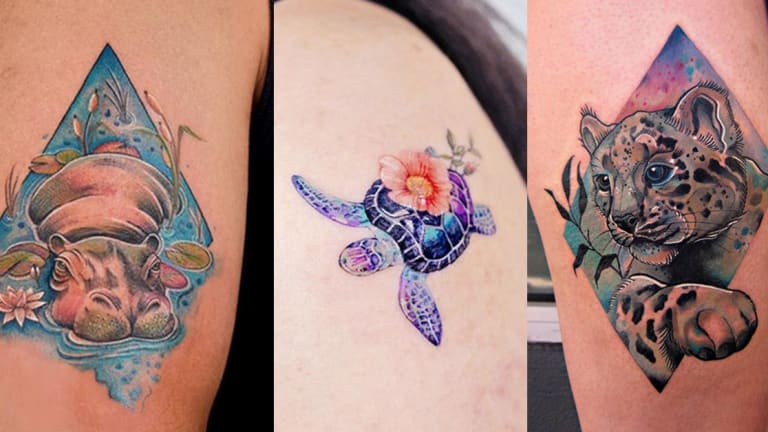 Observe World Wildlife Day with 15 Tattoos of Endangered Species