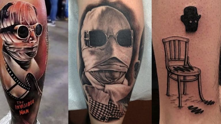 17 Shocking, Spooky and Stupendous 'The Invisible Man' Tattoos