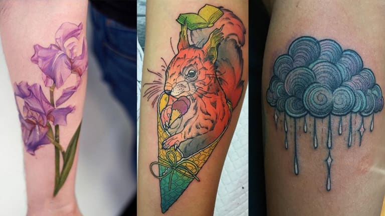 Clean Up Your Act with 15 Spring Tattoos
