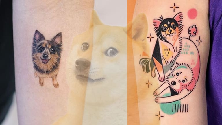 These Puppy Tattoos are Pawsome