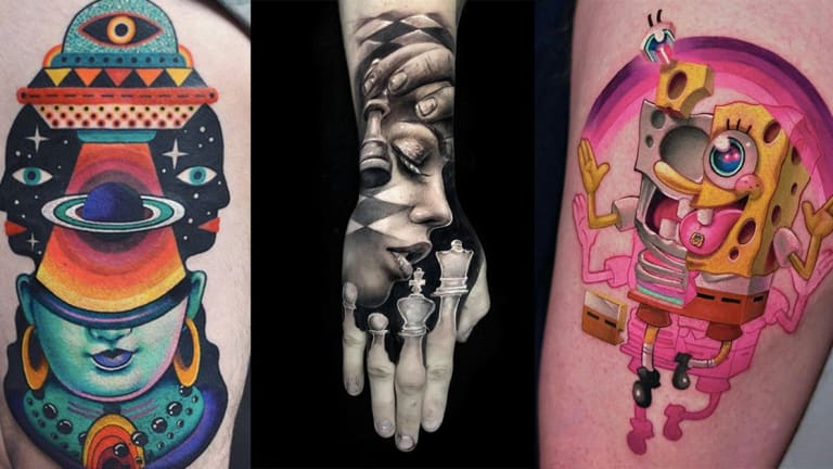 Celebrate World Creativity and Innovation Day with Unbelievable Tattoos