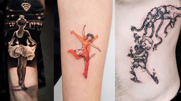 These Dance Tattoos Will Make You Bust a Move