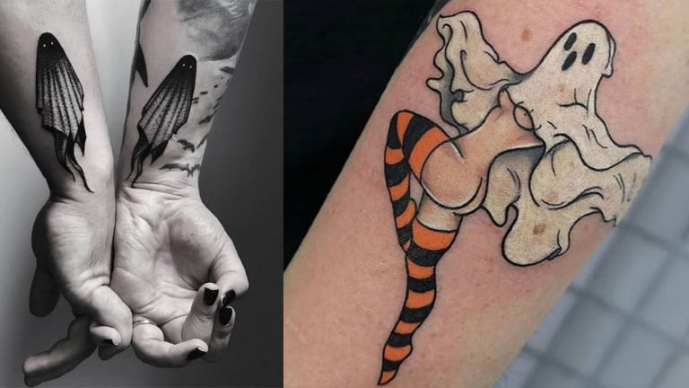 Boo! Tattoos That Go Bump in the Night