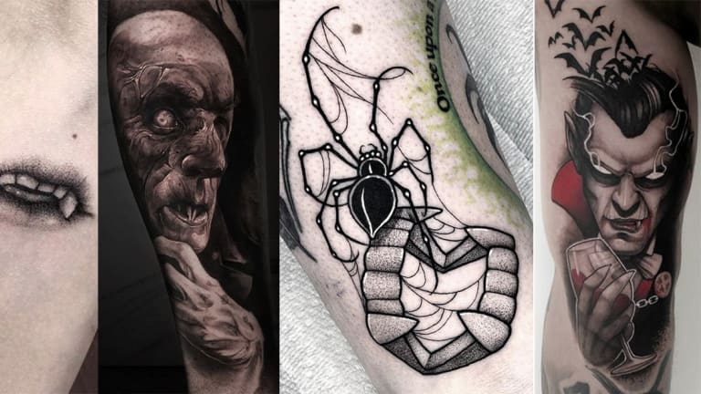 These Tattoos Want to Suck Your Blood